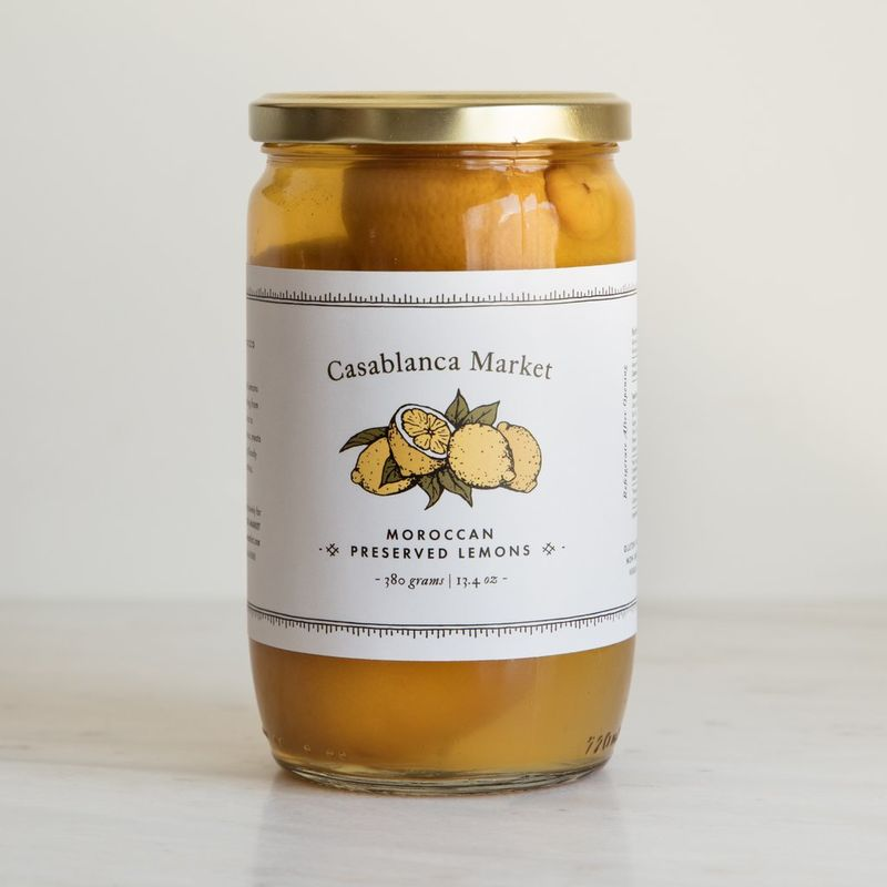 Preserved Moroccan Lemons