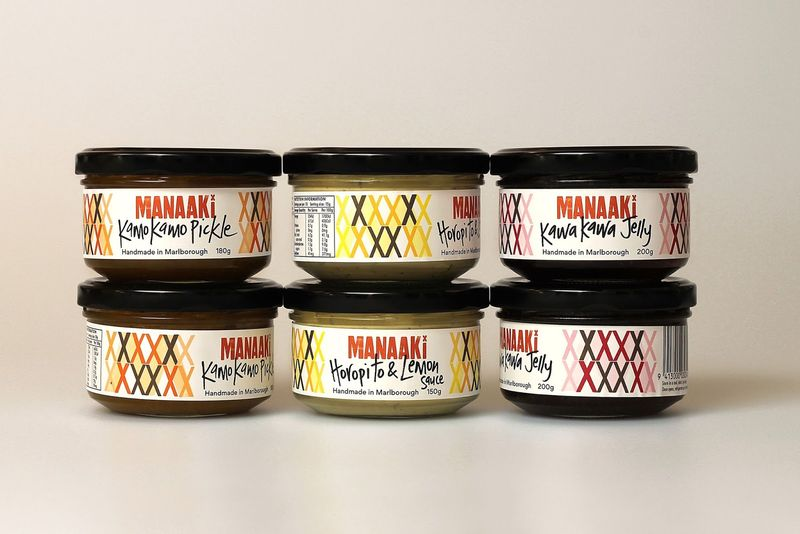 Traditional Ingredient Preserve Packaging