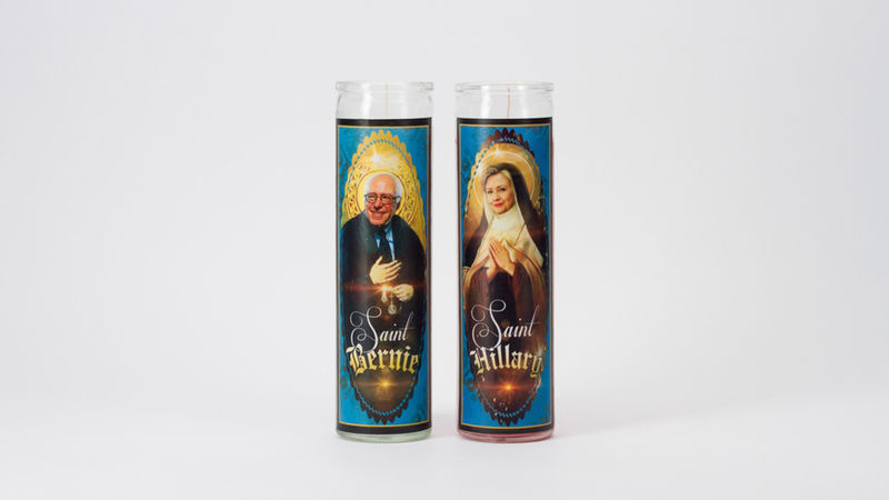 Comical Politician Candles