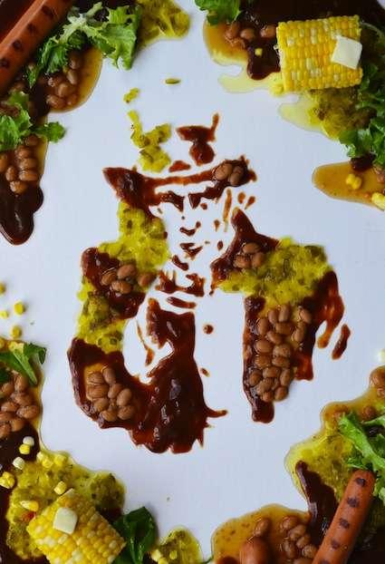 Presidential Food Art