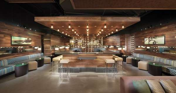 Cellar Inspired Wine Lounges Press Club By Bcv Architects