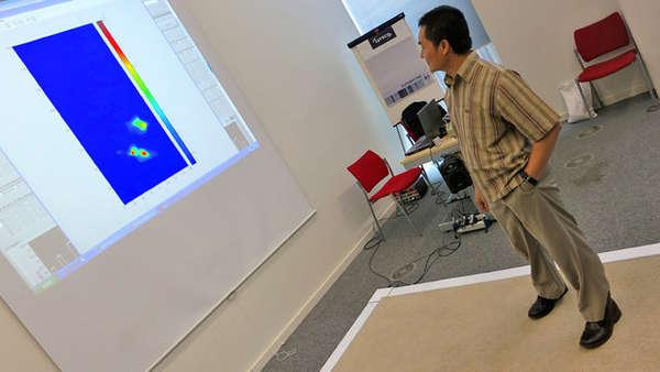 Geriatric Motion-Sensing Carpets