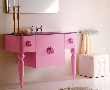 Pepto Bismol Powder Rooms