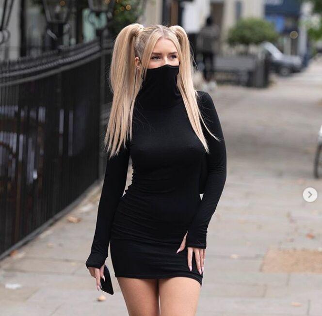 Viral Mask-Integrated Dresses