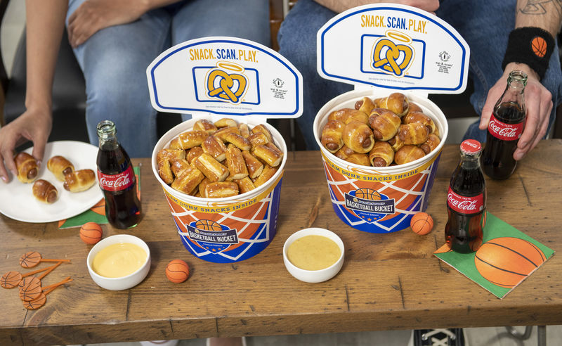 Gamified Pretzel Buckets
