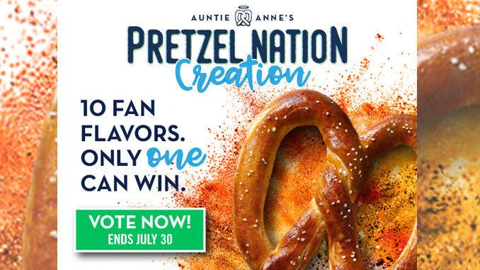 Pretzel Flavor Promotions