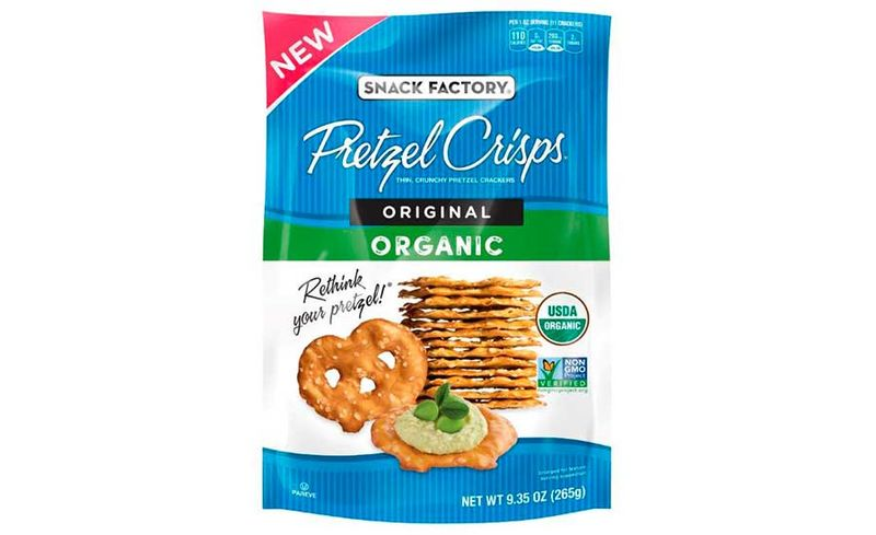 Crispy Low-Calorie Pretzel Snacks