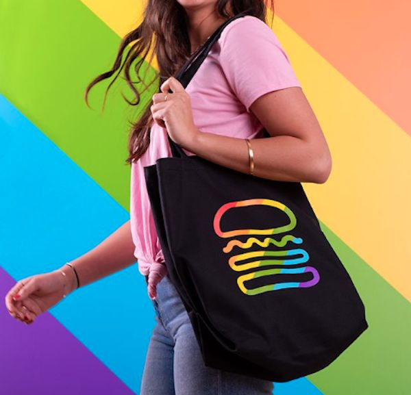 Burger-Themed Pride Capsules