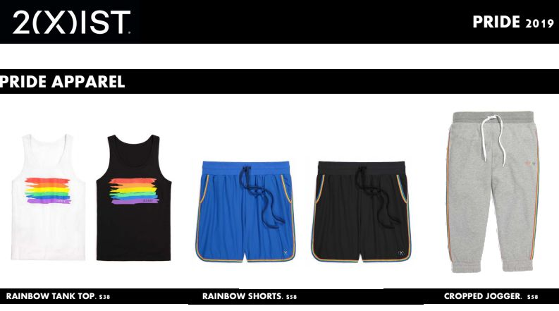 Vibrant Rainbow-Themed Apparel