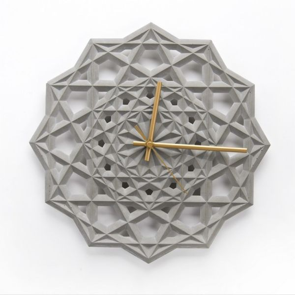 Intricate Concrete Chronographs