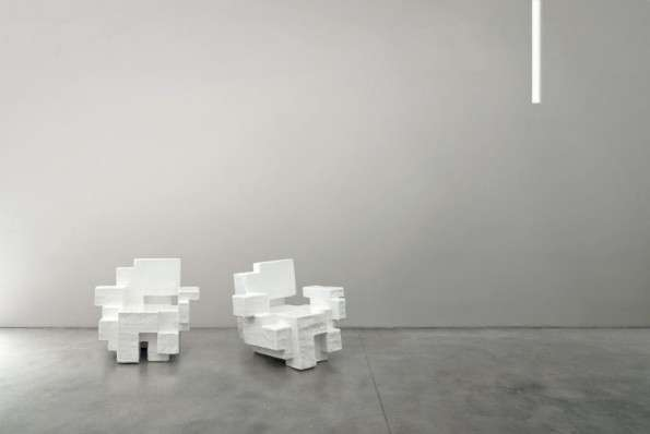 Pristinely Pixelated Furniture
