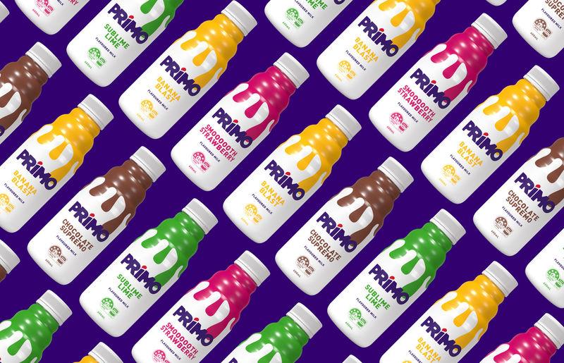 Flavored Milk Re-Branding