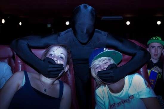Cinema Audience-Policing Ninjas