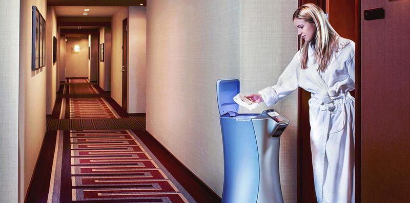 Autonomous Hotel-Roaming Robots