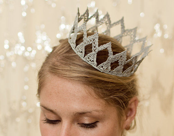 Delicate Lace Crowns