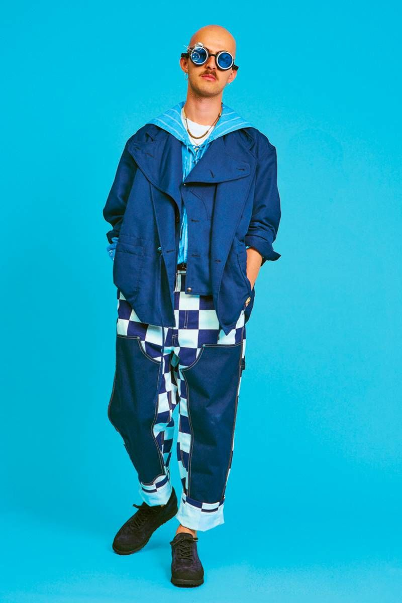 Ultra-Bold Print Menswear Lines