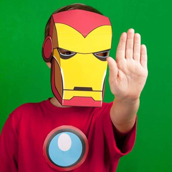 picture relating to Printable Superhero Masks named Do-it-yourself Superhero Masks : printable avengers masks