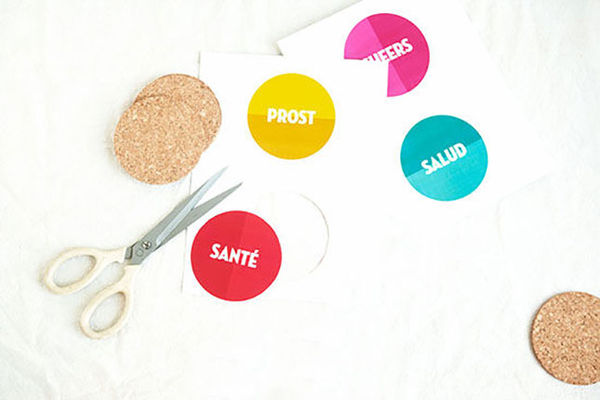 Multilingual Cheersing Coasters