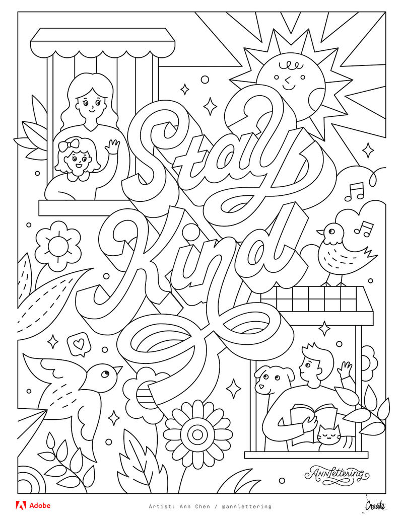 - Printable Coloring Book Haramiran