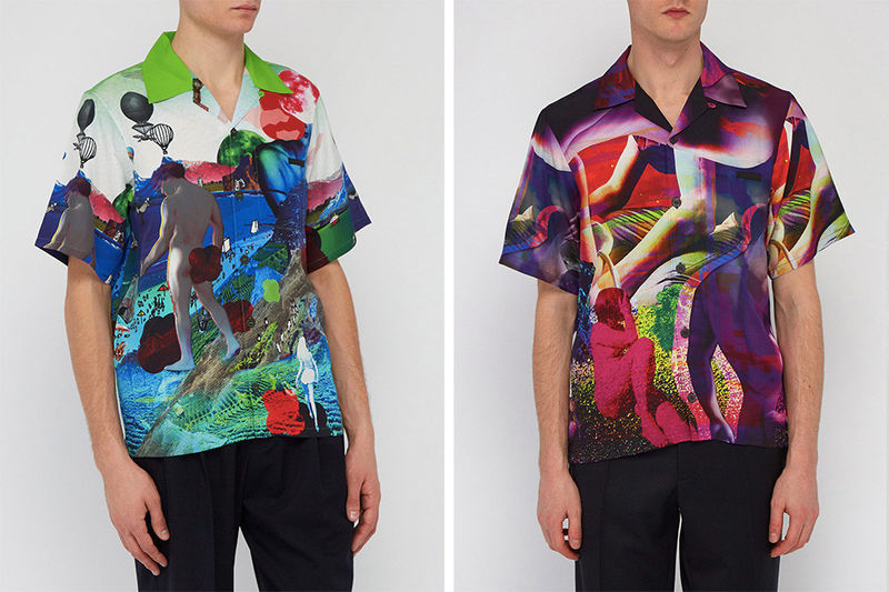 Luxurious Printed Bowling Shirts