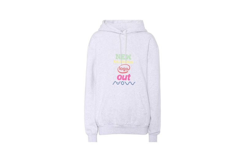 Luxe Rainbow Logo Hoodies