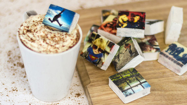 Gourmet Photo-Printed Marshmallows