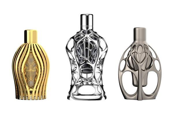 3D-Printed Perfume Packaging