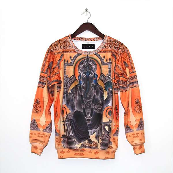 Stylized Religion Sweaters