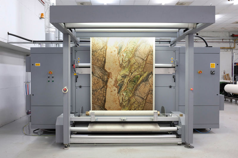 Photographically Printed Textured Fabrics