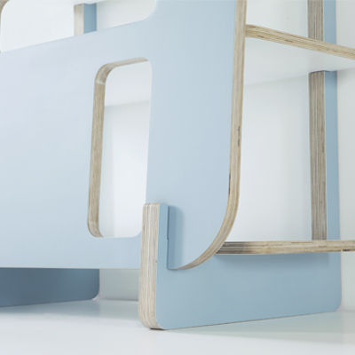 Modular Abstract Shelving
