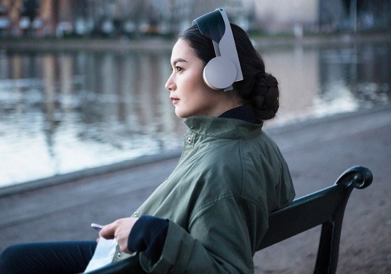 Fold-Up Multimedia Headsets