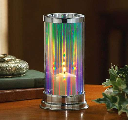 Prismatic Candle Holders