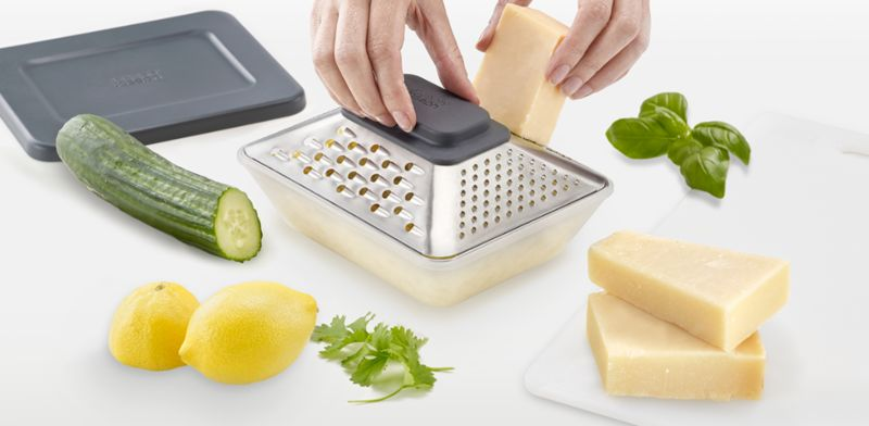 Prism-Shaped Cheese Graters