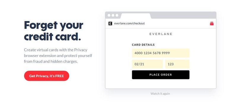 Secure Single-Use Credit Cards