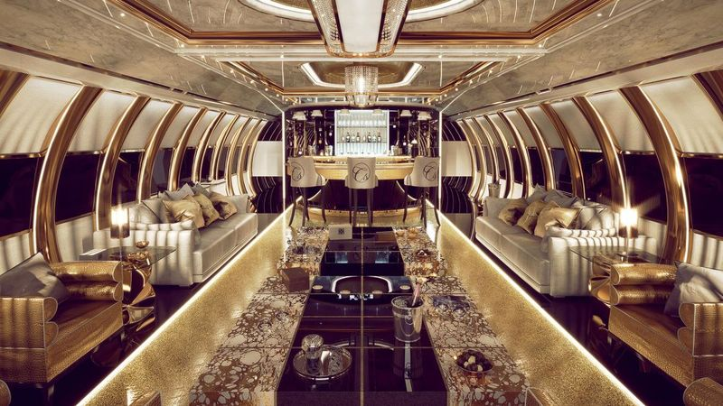 Ultra-Extravagant Private Airbuses