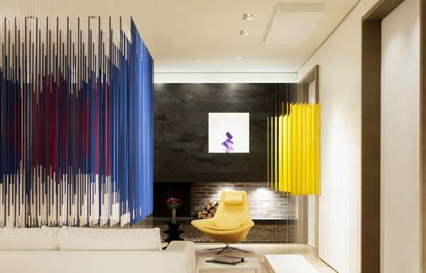 Colorful Art Collector Abodes