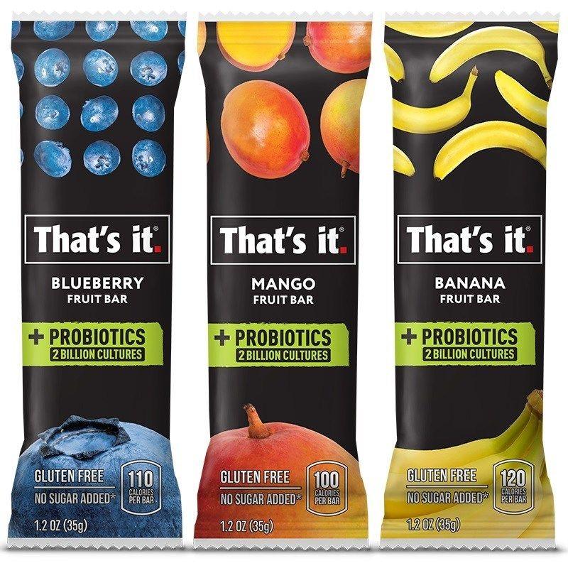Non-Dairy Probiotic Bars
