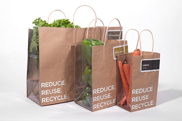 Transparent Produce Bags Bag