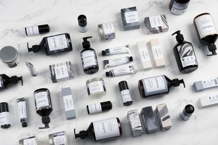 Scandinavian Design Cosmetic Packaging