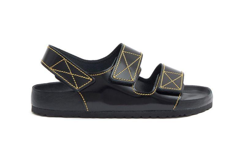Premium Patent Leather Sandals