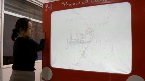 Giant Etch-A-Sketches