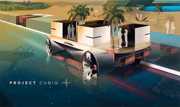 Futuristic Lifestyle Vehicles