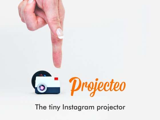 Tiny Instagram Projector