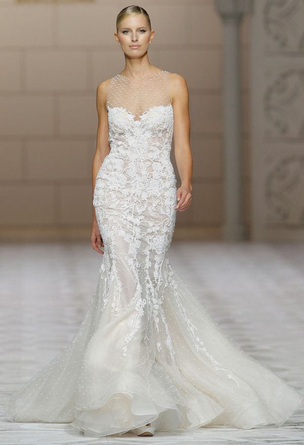 Sleek Bridal Couture : Pronovias Spring 2015