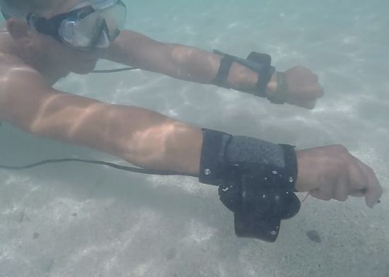 Powered Snorkeler Propellers