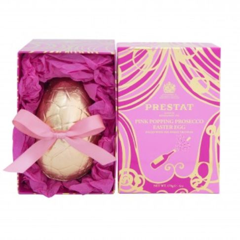 Pink Prosecco Easter Eggs