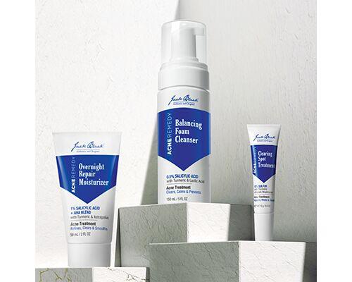 Masculine Acne Care Cosmetics