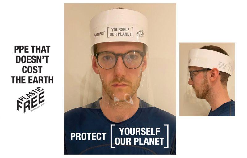 Protective Plastic-Free Visors
