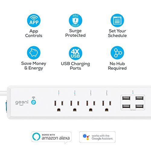 Programmable WiFi Power Bars