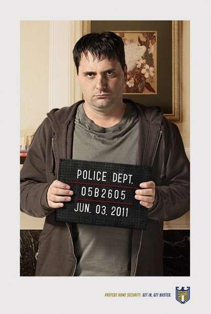 Busted Burglar Ads